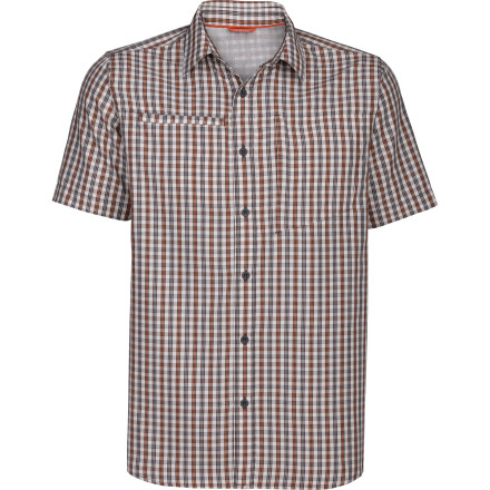 Camp and Hike Hit the trail this summer wearing The North Face Curbar Shirt. This breezy hiker's fabric comes with Tencel lyocell fibers to help wick your sweat, keep you cool, and prevent the shirt from accumulating odors over time. - $59.95