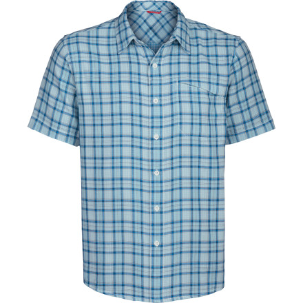 When you conquer a route that's plagued you for weeks and head for the local gathering spot for some beers (and stories) with the crew, that'll be the moment you realize that The North Face Men's Dark Angel Woven Shirt works for the rock and for whatever happens after. - $38.97