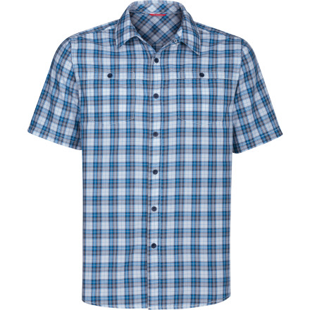 Whoever said that you had to look like a total bum to hang out at the crag' The North Face Sentinel Spire Woven Shirt gives you the style points to match your rock-pulling skills. - $27.48