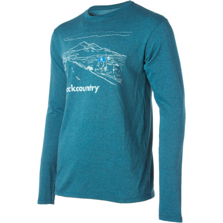Your travels will always be smooth and rewarding when you slip on the long-sleeve Backcountry.com Destination T-Shirt and take on the world with an opened mind. - $22.95
