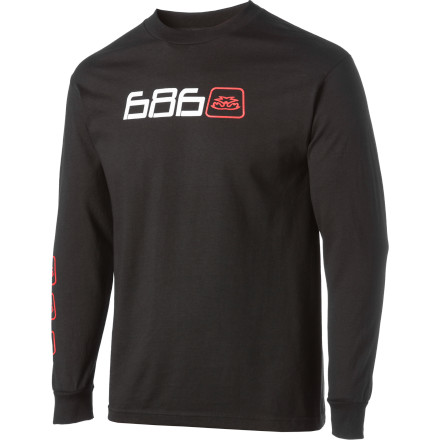 Skateboard Your math teacher may get frustrated with you if you start answering ever single question with '686.' Justify your poor algebra with the 686 Main T-Shirt. Although it may not be acceptable on an exam, it's always acceptable at the skate park. - $26.00
