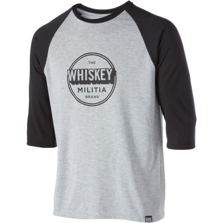 Whiskey Militia RBI T-Shirt - Long-Sleeve - Men's - $24.47