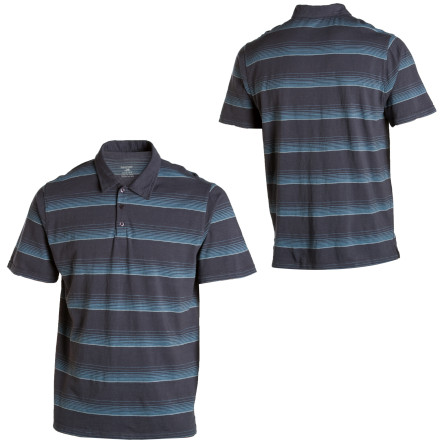 The Horny Toad Foster Polo Shirt may not be aptly named, but it sure is one of the softest and most versatile shirts around. The 100% cotton Foster Polo works well whether you're grillin' steaks in the backyard or attending your daughter's ballet recital. It's functional for you, and stylish for the old lady. Sounds like a win-win situation to us. - $55.95