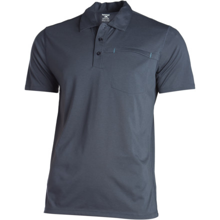 Don't bother packing a change of shirt for after your match. The Drirelease polyester fabric that Horny toad uses to make its Onrush Polo Shirt wicks moisture, dries quickly, and fights odor. - $68.95
