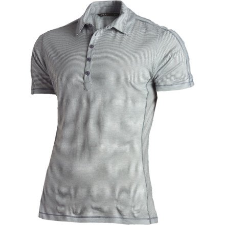 The NAU M1 Polo Short-Sleeve Shirt gives you a classic look, and not classic as in boxy tweed jackets. This shirt is classic like classic cars and really good wine. - $62.48