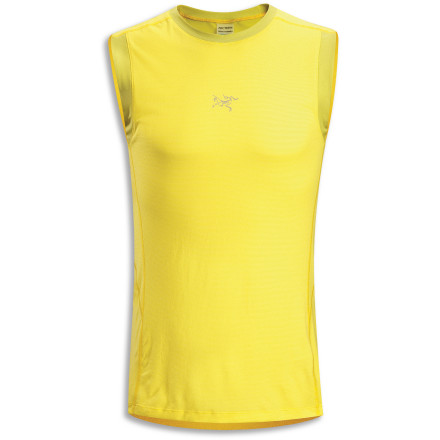 Some days require that you go sleeveless, but if you still want a garment that manages moisture and keeps you comfortable, look no further than the Arc'teryx Motus Shirt. - $29.48