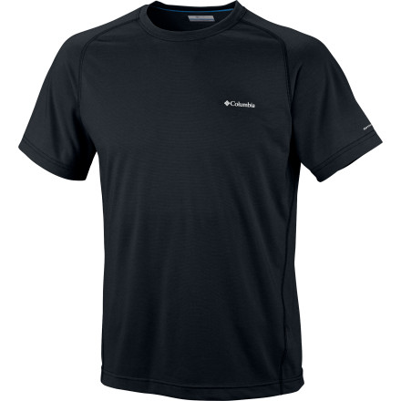 Fitness Build your late spring, summer, and early fall layering system around the Columbia Mountain Tech III Shirt. This quick-drying, lightweight top features UPF-15-rated protection to fend off harmful UV rays and comes with an antimicrobial finish so you can wear it with confidence for years to come. - $23.96
