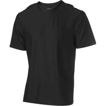 Camp and Hike Kiss your overpacked bag goodbye, because when you pull on the Ex Officio Mens Give-N-Go T-Shirt for your next biking, backpacking, or travel excursion, you might not want to take it off. This breathable wicking shirt dries in a flash and keeps you feeling fresh thanks to its odor-resistant finish. - $37.95