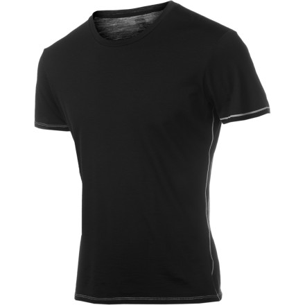 Surf The heat may melt your candy, your soft rubber sandals, or even your very soul, but the short-sleeve Icebreaker Bodyfit 150 Crew can help you keep cool with its quick-drying, breathable merino wool. - $59.95