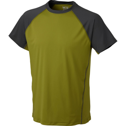 The Mountain Hardwear Justo Trek Shirt is all that stands between you and your gear-loaded pack, and since it helps keep you dry and comfortable, you can maximize your daily mileage through the vast wilderness. The quick-drying polyester fabric wicks your sweat, and its pack-friendly, flat-locked seams reduce pressure points that can lead to chafing. - $27.27