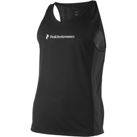 Nothing beats the feel of working up a good sweatit's like you can feel those weekend beer toxins working their way out of your body. The Peak Performance Orda Singlet moves that cleansing sweat away from your skin so you can keep going. - $37.48