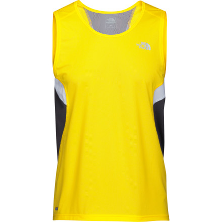 The North Face Better Than Naked Cool Singlet isn't just trying to grab your attention with a flashy name. Streak through your aerobic workout, all while enjoying the comfort and moisture-managing properties of an optimal blend of polyester and Lycra. - $22.48