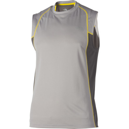 Sports Your body will thank you next time you suit up in The North Face GTD Tank Top for an afternoon run or pick-up basketball game. This quick-drying, moisture-managing tank keeps you dry and comfortable, while a reflective logo enhances safety in low-visibility situations. - $15.98