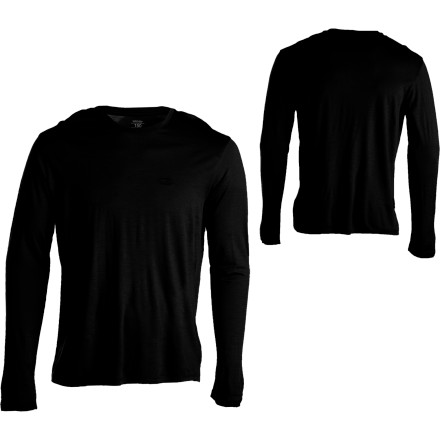 When the weather heats up, you may feel the urge to strip down and head out wearing nothing but your skivvies, but, according to your last performance review at work, wearing clothes is part of maintaining a professional working environment (or some crap like that). The Icebreaker SuperFine Tech Lite Long-Sleeve T-Shirt uses ultra-light, merino wool to wick moisture and let your skin breathe so you stay cool and don't feel sweat-soaked. Also, merino wool is naturally antimicrobial, which means less funkiness, and you could definitely use that. - $43.97