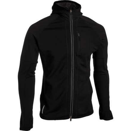 Ski A top layer for backpacking treks and fall hikes, a mid layer for ski-touring and snowshoeingthe Icebreaker GT260 Quantum Hooded Shirt is your new chill-in-the-air backcountry partner. - $89.98