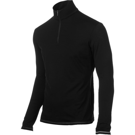 When it gets cold your jacket is important. We think the layer next to your skin is just as important, though. The Icebreaker BodyFit 150 Zip-Neck Shirt is about as good as it gets. Moisture-wicking, super-breathable, and odor-fighting. What else do you want' - $43.97