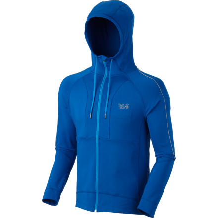 Fitness Lace up your running kicks, toss on the Mountain Hardwear Men's Mighty Power Hooded Long-Sleeve Top, and head out the door to the trailhead. Thanks to its moisture-wicking fabric, you stay comfortable during long hikes or trail runs in chilly fall weather. - $47.48