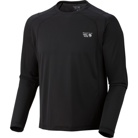 MTB Cotton might feel nice when you're kicking back, but when you start moving, you'll want the light, moisture-wicking fabric of the Mountain Hardwear Double Wicked Lite Shirt. Details like flatlock stitches and an odor-controlling fabric treatment come in handy while you run, hike, bike, or backpack. - $27.27