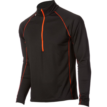 Stay dry and comfortable when you're moving fast in the wild while wearing the Stoic Men's Breathe 150 Zip-T. This performance baselayer dries quickly, moves sweaty moisture away from your skin, and offers the additional ventilation of a chest zip. Summer through winter, this shirt outperforms your favorite cotton tee in spades. - $28.80
