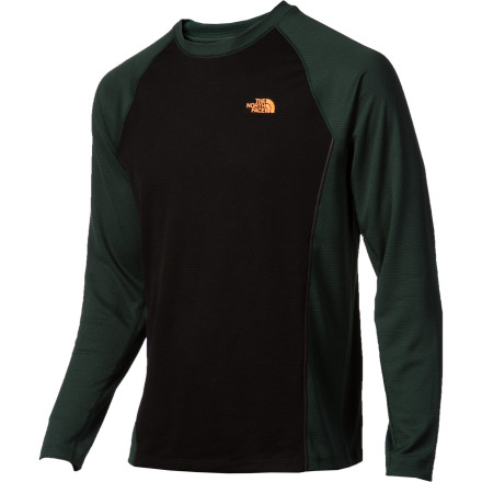 Camp and Hike It may be chilly as you sling your big pack over your shoulder at the start of the day, but the long-sleeve Split Crew from The North Face ensures that sweat doesn't accumulate as you trek the many miles to the next camp site. - $29.98