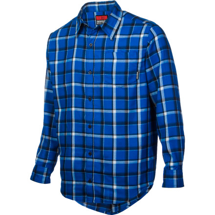 Snowboard You've committed to a life of logging, so when the resort closes down, you button up the Burton Havoc Flannel Shirt and head into the woods to construct a park with pine. - $50.94