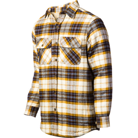 The Dakota Grizzly Men's Mack Flannel Shirt does for your style what your new cattle prod does for your lazy herd. - $41.37