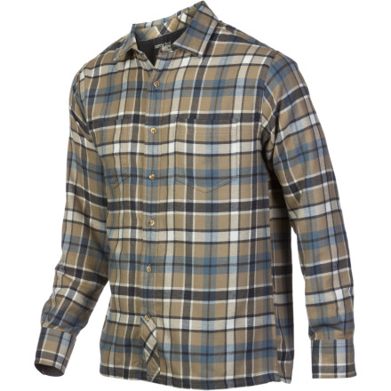 On a cool fall morning, button into the Horny Toad Men's Flanery Shirt, and go outside to chop some wood so you can get the stove going in your mountain cabin. As you step outside into the crisp air, your core and arms feel cozy warm thanks to the Flanery's organic flannel ... but things feel a bit breezy down below. - $48.37