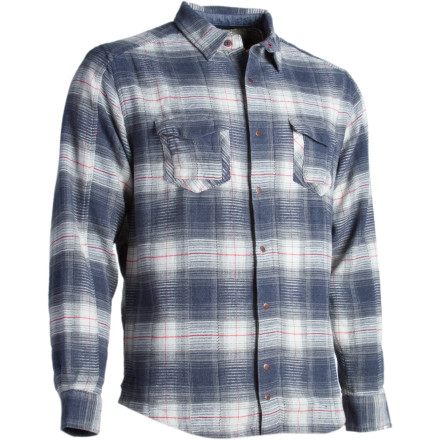 The Mojac Flannel Shirt from Horny Toad was designed to fit like a shirt but to provide the warmth of a jacket. Twisted organic yarns give the Mojac a vintage look and feel when you're sitting around the campfire with your friends. - $91.76