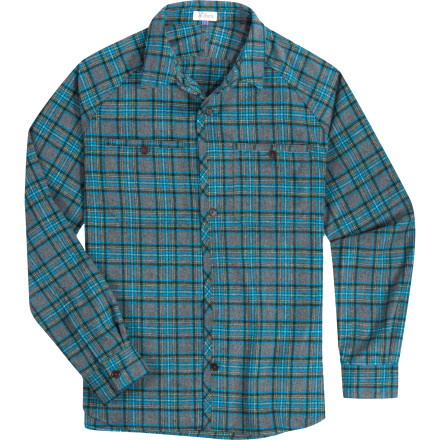 Camp and Hike The Men's Virgil Wool Shirt is a limited edition workwear-style shirt from Ibex, and its woven wool fabric is so comfortable it'll leave you pondering the existence of cotton. This versatile long-sleeve top conquers the cold whether you're camping, hiking, or kicking back on the deck during the fall. - $191.72