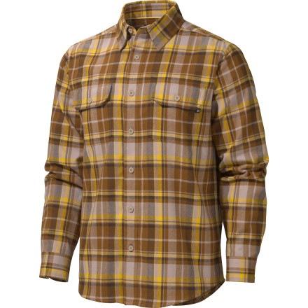 Marmot Bowls Flannel Shirt - Long-Sleeve - Men's - $41.22