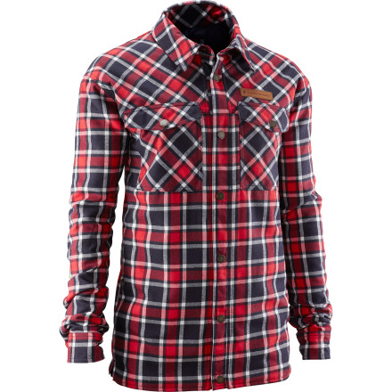 Freeskier Henrik Windstedt likes his stuff both to be functional and look pretty good, so he teamed up with Peak Performance to give you the Men's Lumber Jacket. Now we all know how you guys feel about your flannels, but this padded flannel jacket really does take the cake. - $131.97
