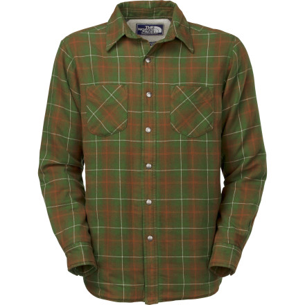 Once fall's chill creeps back into the mountains, nothing feels better than time around a campfire and The North Face Trapper Flannel Jacket to keep you toasty during lengthy stories. - $87.96