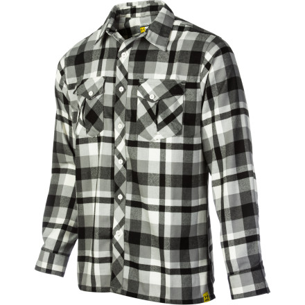 Fitness You probably know Under Armour from outdoor applications such as: saving your legs from total collapse on the hill and giving your upper body warmth on the coldest day you've ever skied. The Men's Legit Flannel Shirt gives you the same warmth and quick-drying capability you'd expect from Under Armour but this time with a little dash of lumberjack. - $69.95