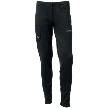 No pant hollers versatility like the Norrna Men's Trollveggen Warm2 Stretch Tight. It's outerwear in cool temperatures and a base layer when the temperature really dives. the stretch fabric won't limit your range of motion. And comfort' Forget about it. - $108.90