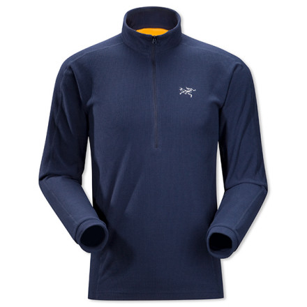 Entertainment Versatility and efficiency are Arc'teryx hallmarks, ones exemplified by the Men's Delta LT Pullover. This Polartec Classic 100 fleece top provides essential thermoregulation throughout the year, minimizing gear needs and maximizing pack space. Wear it over a wicking shirt for cool evening runs, as a mid-layer for high-output winter pursuits, or as expedition-weight base layer in extreme cold. Its smooth face won't catch or bind under outer layers. - $98.95