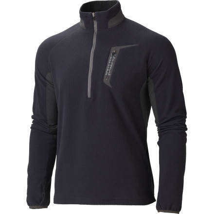 Layer up for winter's cold with the Marmot Alpinist Half-Zip Long Underwear Top. - $89.95