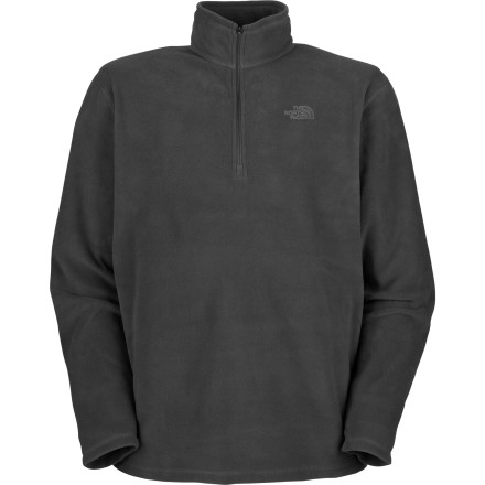 The North Face has updated its go-everywhere Men's TKA 100 Microvelour Glacier 1/4-Zip Fleece Top with Polartec Classic 100 fabric, making it 10% warmer and 50% more thermally efficient, while cutting the weight by 27%. If you're not a numbers person, all this means that you're going to enjoy this super-soft, lightweight, breathable fleece sweater more than ever. Stock up on several colors to coordinate with all your pants, 'cause you're going to want to wear the Glacier all the time. - $35.72