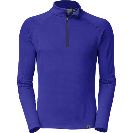 The North Face Men's Warm Zip-Neck Top features the new, innovative FlashDry technology to ensure your comfort during stop-and-go days on the mountain. Nothing will chill you off faster than a clammy baselayer, but the Warm Top makes this worry a thing of the past. - $59.95