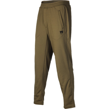 A super-breathable technical pant doesn't do a whole lot of good if you're wearing sweatpants underneath it. Take full advantage of your outerwear with a technical layer to match. The Homeschool Art Hag Lounger Pant is made of a Cocona-infused terry fleece that wicks moisture and dries quickly to keep you dry and warm, and it's super-stretchy so you're not being held back on intense hikes. - $39.98