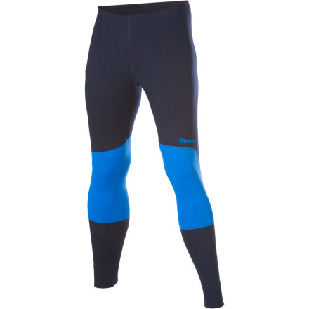 Ski Layer the smooth Houdini Men's Alpha Long John Bottom under your alpine or Nordic ski pants for warmth and moisture management. Recycled Eco Circle Alpha Base material wicks sweat and dries quickly when you're perspiring while perfecting powder turns. - $68.97