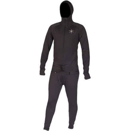 Wool is awesome. Not only does it come from a totally renewable resource, it's also one of the warmest, fastest-drying, most odor-resistant fibers on the planet. The Airblaster Merino Wool Ninja Suit keeps you warm, dry, and smelling freshdue to all that stuff we just mentioned. - $104.47