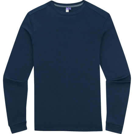 Camp and Hike Before you even set out on your hike, pull on the Ibex Men's U-Sixty Long-Sleeve Top. Its lightweight, soft merino wool fabric helps regulate your body temperature and keeps you cool and comfortable while you scramble up a scree field. - $84.95