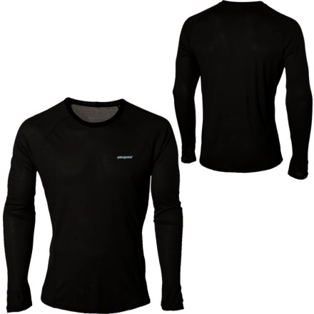 Toss on the lightweight Patagonia Mens Capilene 2 Crew when you hit the trail or skin up the mountain. This moisture-wicking, quick-drying, stretchy crew keeps you comfortable and warm throughout your aerobic activities. Thanks to the Capilene 2s odor-fighting finish you dont offend your friends, and this breathable, slim-fit top with flat seams easily layers under your jacket or can be worn alone on warmer days. - $45.00