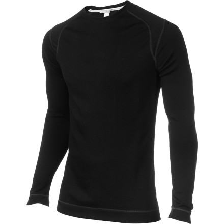 The wickedly cold pow days shouldn't keep you inside, because you can slip on the SmartWool NTS Midweight Crew and make waist-deep turns in warm, dry comfort. As a baselayer, this merino wool crew keeps your inner climate just right while the worst winter storm of the year hammers your mountain. - $94.95