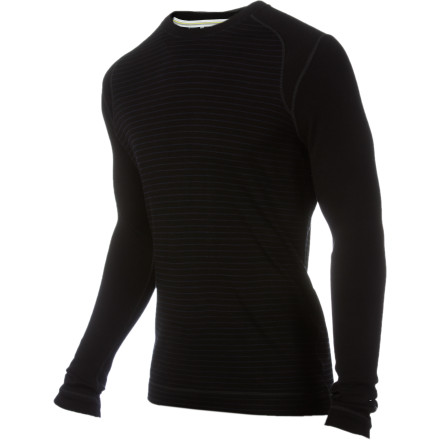 When you're post-holing up the side of a mountain on your way to a tree-line yurt, you need a high-tech technical baselayer like the SmartWool  Midweight Pattern Crew between your skin and everything else. This merino long underwear top helps your body stay cool when you're working up a sweat, and it keeps out the cold when you're flying down the mountain. Plus, thanks to a few well-placed stripes, you'll even look good when you're relaxing around the yurt. - $99.95