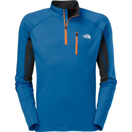 Ski Your lungs burn, your heart pumps, and your sweat turns to icesuch is the life of the cold-weather endurance athlete. The good news is that The North Face makes a layering piece just for you, and it's called the Men's Kannon Mid-Layer Top. Think of the design of this top as the intersection between unmatched breathability and comfortable warmthit's that happy balance you crave when you run, hike, bike, or ski in cold conditions. - $83.97