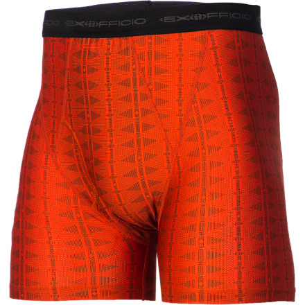 Whether you're trekking to Machu Picchu or just heading out for your evening jog, the ExOfficio Men's Give-N-Go Aztec Boxer Brief will keep you dry and comfortable each step of the way. The breathable blend of nylon and spandex drys quickly, feels light, and uses Aegis Microbe Shield for reliable odor control. Plus, the unique Aztec print brings some needed color and style to your underwear selection. - $17.97