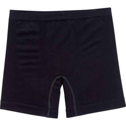 Let Ibex rescue you from boring ol' cotton boxers. The highly-breathable Mens Balance Boxer Short uses soft merino wool to keep the boys happy from morning 'till night. Previously merino may have been reserved for only cold weather, but these balance series boxers bridge the gap with ultra-fine fabric that means ultimate comfort in the warmer months too. Carefully placed seams and a form-fitting shape keep the Balance Boxers close to your skin so these odor-resistant, temperature regulating threads can work their magic. - $34.96