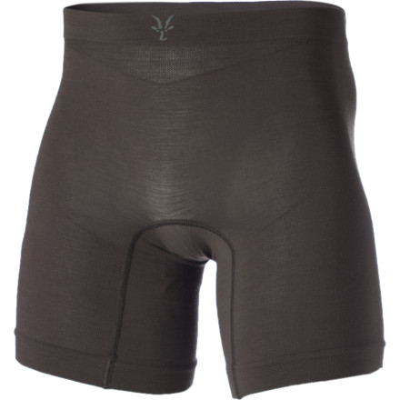 You could sport cotton or all-synthetic undies when you hit the trails or road, but you're bound to suffer the abrasive, saggy, or stinky wrath that comes with them. The Ibex Men's Balance Runner Underwear features an effective blend of natural merino wool (for body-temperature regulation and odor control) and a small amount of synthetic fibers (for shape retention and quick drying). Flatlock seams join the body-mapping panel design to offer the most comfort while you move and sweat. - $38.46