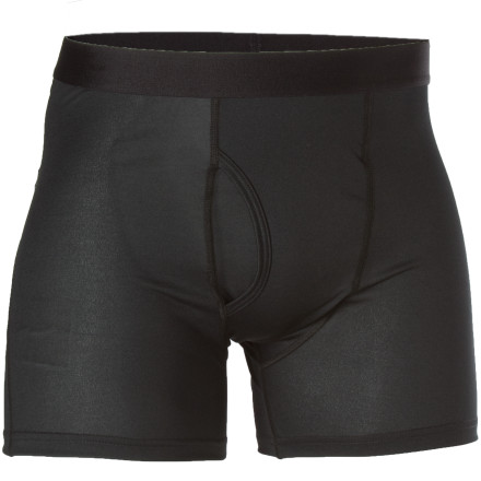 For a super-silky layer that never stops dishing out comfort, slide on into the Patagonia Silkweight Boxer Brief. - $32.00
